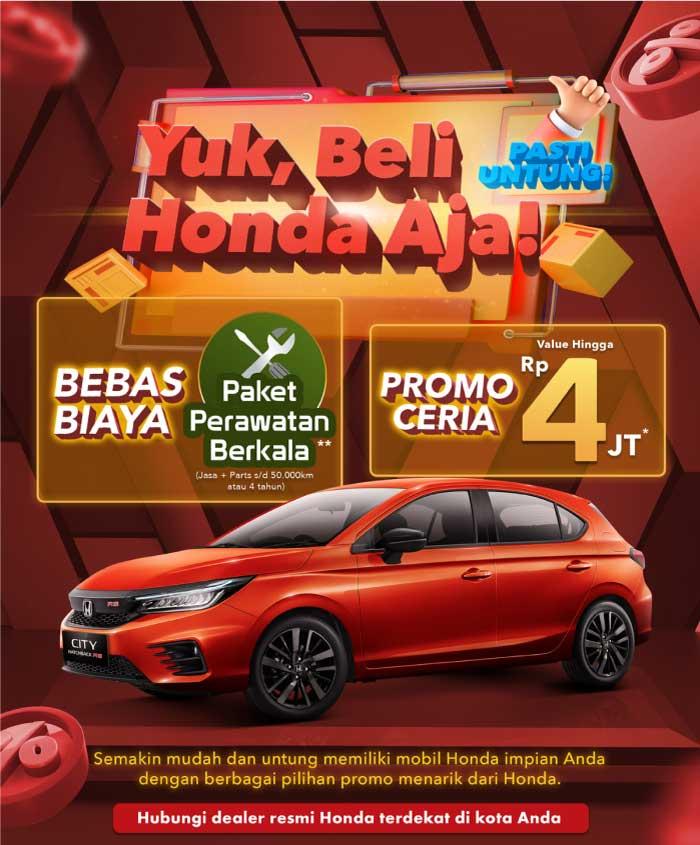 Promo Honda City Makassar